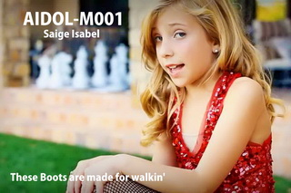 AIDOL-M001 Saige Isabel - These Boots are made for walkin' - HD 720p