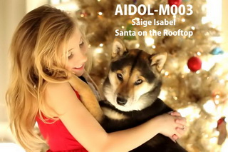 AIDOL-M003 Saige Isabel - Santa on the Rooftop - HD 720p