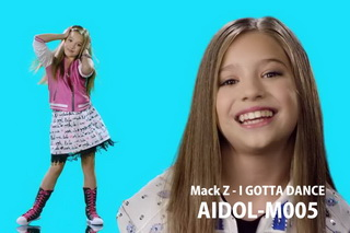 AIDOL-M005 Mackenzie Ziegler - Mack Z - I GOTTA DANCE - HD 720p Music Video